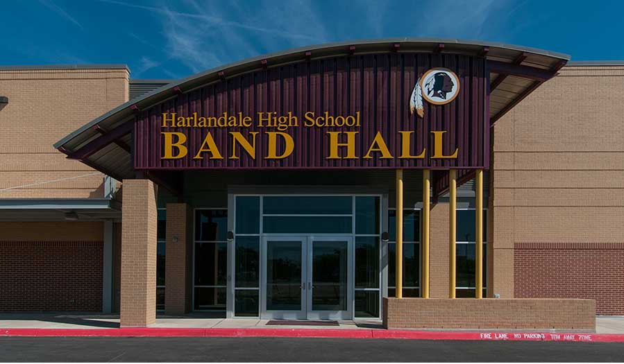 Harlandale High School Band Hall