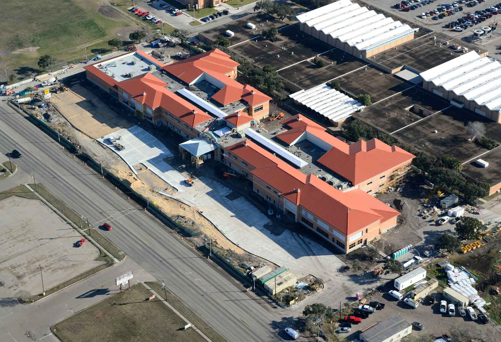 H.M. King High School Aerial View